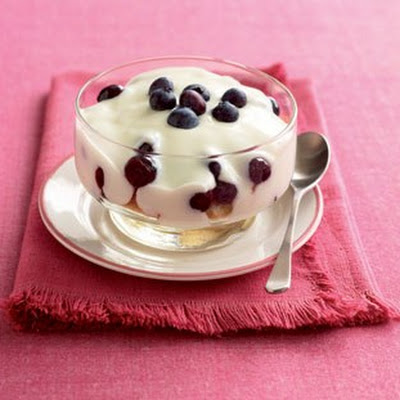 Blueberry And Orange Trifle