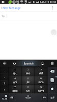 Screenshot of Spanish Language - GO Keyboard