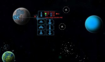 Screenshot of Space Blue Libra