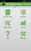 Screenshot of Mobile English Test