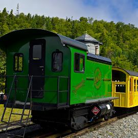 Mt Washington Diesel Locomotive by Roy Walter - Transportation Trains ( mt washington, diesel, locomotive, transortation, train, new hampshire )
