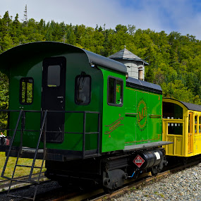 Mt Washington Diesel Locomotive by Roy Walter - Transportation Trains ( mt washington, diesel, locomotive, transortation, train, new hampshire )