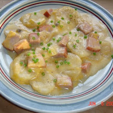 Country Scalloped Potatoes & Ham (Crock Pot)