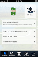 Screenshot of Stonebridge Golf Club