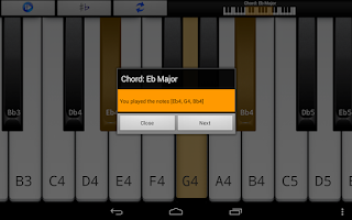 Screenshot of Piano Scales & Chords Free