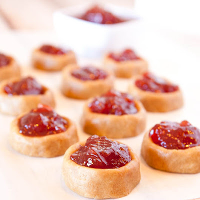 Peanut Butter and Jelly Thumbprint Cookies (No-Bake, Vegan, Gluten Free)
