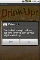 Screenshot of Drink Up!