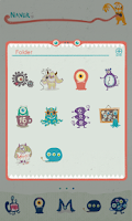 Screenshot of Monster Dodol Theme