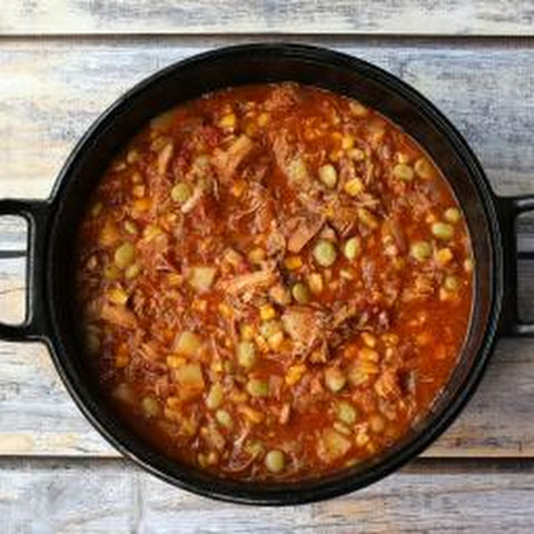 Easy Brunswick Stew with Pork and Chicken