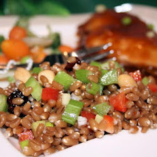 Spicy Wheatberry Salad