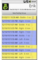 Screenshot of Breast Feeding Tabulator: Free