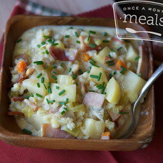 Canadian Bacon & Potato Chowder