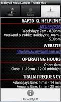 Screenshot of Malaysia Kuala Lumpur Transit