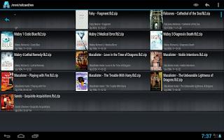 Screenshot of AlReader -any text book reader