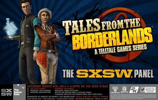 First Tales From The Borderlands details to be revealed at SXSW