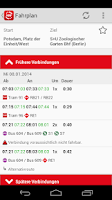 Screenshot of Bus & Bahn