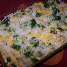 Broccoli Cheesy Rice