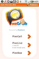 Screenshot of PixeGrab: Grab Pics From Phone