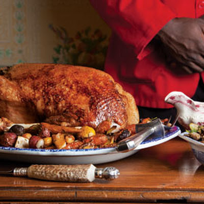 Christmas Goose With Stuffing