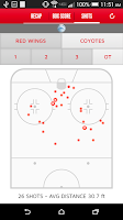 Screenshot of Detroit Red Wings Mobile