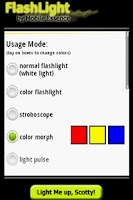 Screenshot of Mobile Flashlight