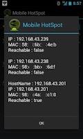 Screenshot of Mobile HotSpot