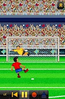 Screenshot of Nano Penalty World Cup