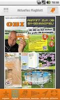 Screenshot of OBI Mobile