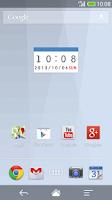 Screenshot of Calendar clock BL-MeClock