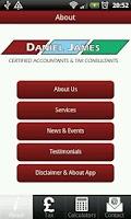 Screenshot of Daniel James