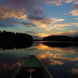 Kayak fishing.... Lake Keowee Living#Upcountry_S.C. by Mark Holsclaw - Landscapes Sunsets & Sunrises (  )
