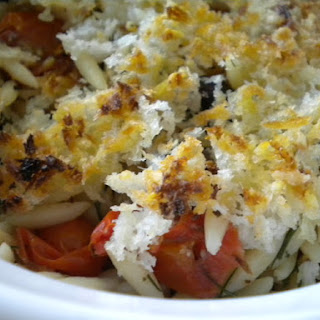 A Gratin of Fennel, Orzo, Tomato....