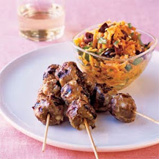 Spicy Pork Skewers