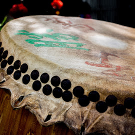 Drum by Loh Jiann - Artistic Objects Musical Instruments ( cny, drum, instrument, culture, chinese )