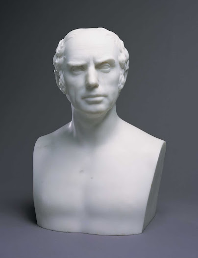 Nicholas Longworth was Cincinnati's first millionaire. A successful banker, lawyer and winemaker (whose vineyards sat atop Mt. Adams), Longworth was also an abolitionist and strong supporter of local art. His former home is now the Taft Museum of Art. What does his facial expression convey to the viewer?