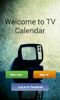 Screenshot of TV Calendar