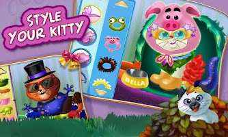 Screenshot of Kitty Cat Pet Dress Up & Care