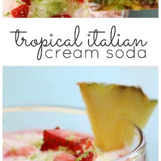Italian Soda Ice Cream Recipes