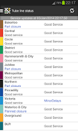 Screenshot of London Tube Master