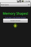 Screenshot of Memory Shapes - Ad-free Donate