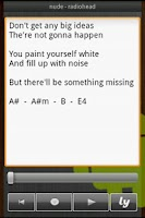 Screenshot of SongMemo