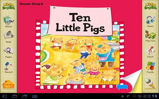 리틀잉글리시-Ten Little Pigs 5세용