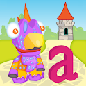 ABC Letter Dino 3D icon