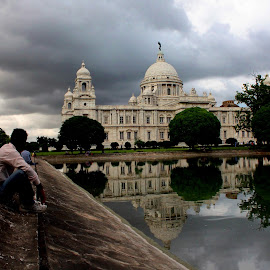 Shadow of dark will move very soon by Santanu Dutta - Buildings & Architecture Public & Historical