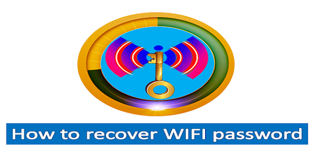 WIFI Password Recovery - screenshot