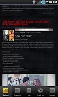 Screenshot of Raw Rant Radio