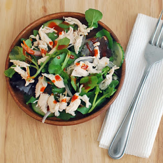 Shredded Chicken Salad With Gochujang Dressing