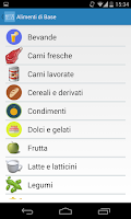 Screenshot of Diario Alimentare