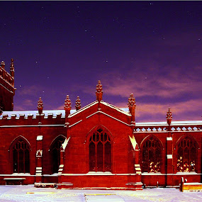 The church at Christmas  by Ian Flear - Buildings & Architecture Other Exteriors