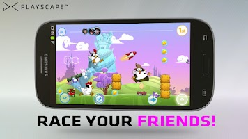 Screenshot of Ninja Chicken Multiplayer Race